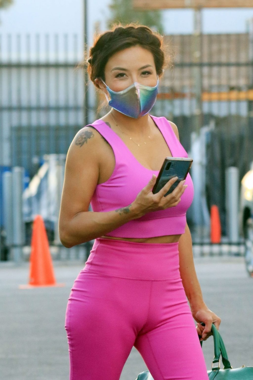 Jeannie Mai is All Smiles at the Dance Studio (30 Photos)