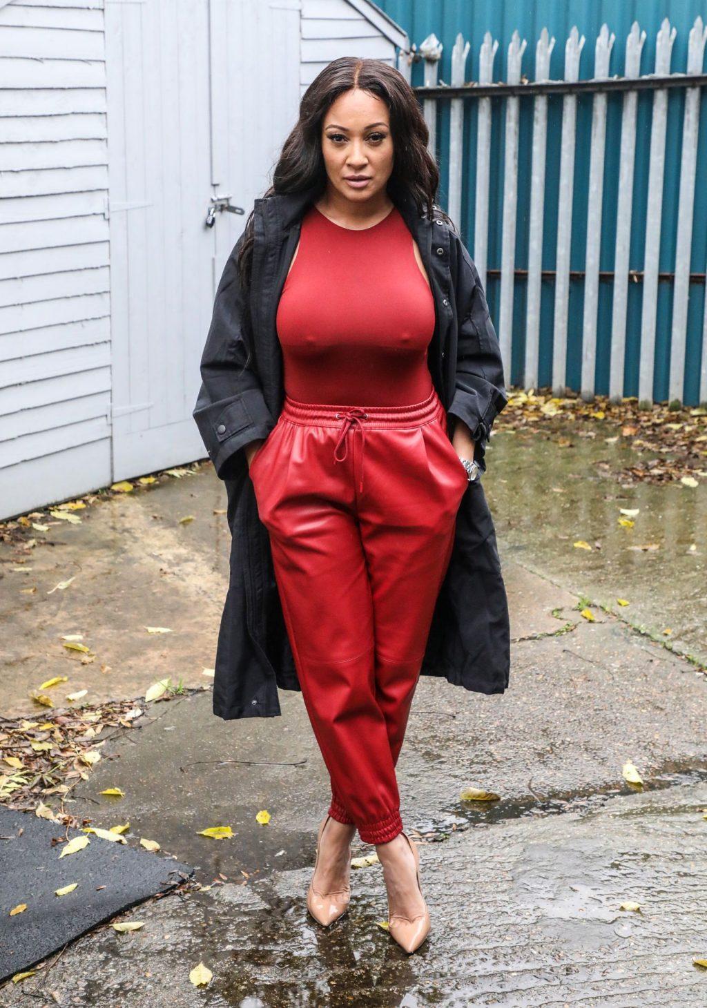 Busty Lisa Maffia is Seen in London (16 Photos)