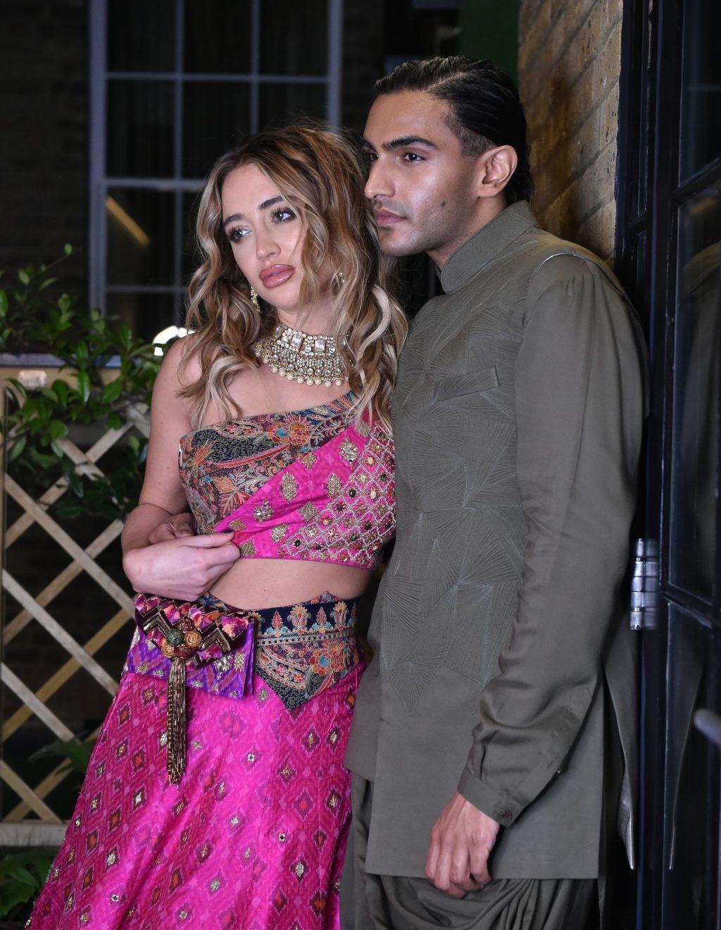 Georgia Harrison is Seen on a Diwali Photoshoot with Rahi Chadda (23 Photos)