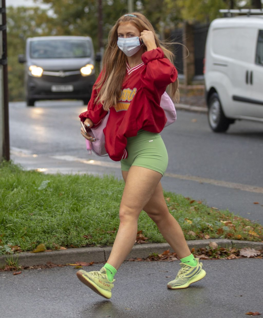 Sexy Maisie Smith is Seen Leaving Strictly Training Sessions (15 Photos)