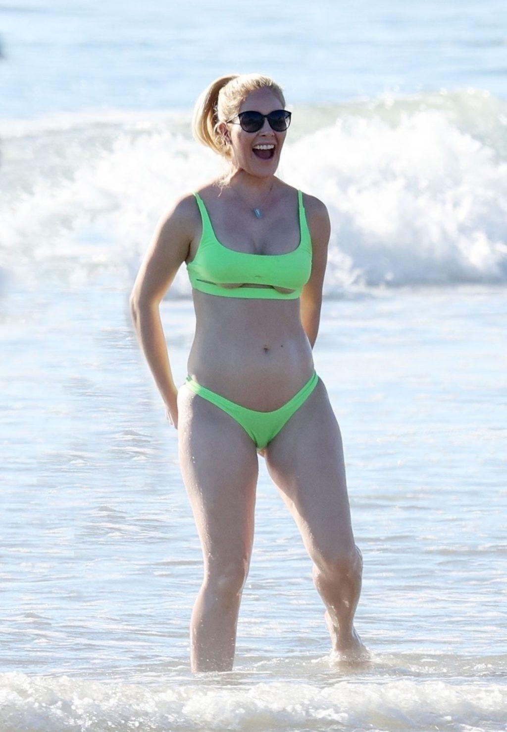 Heidi Pratt Sparks Pregnancy Rumors as She Frolics on the Beach in Carpinteria (44 Photos)