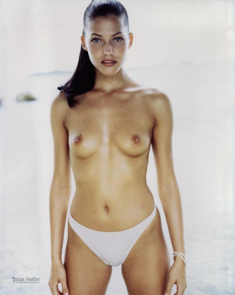 Topless Tricia Helfer