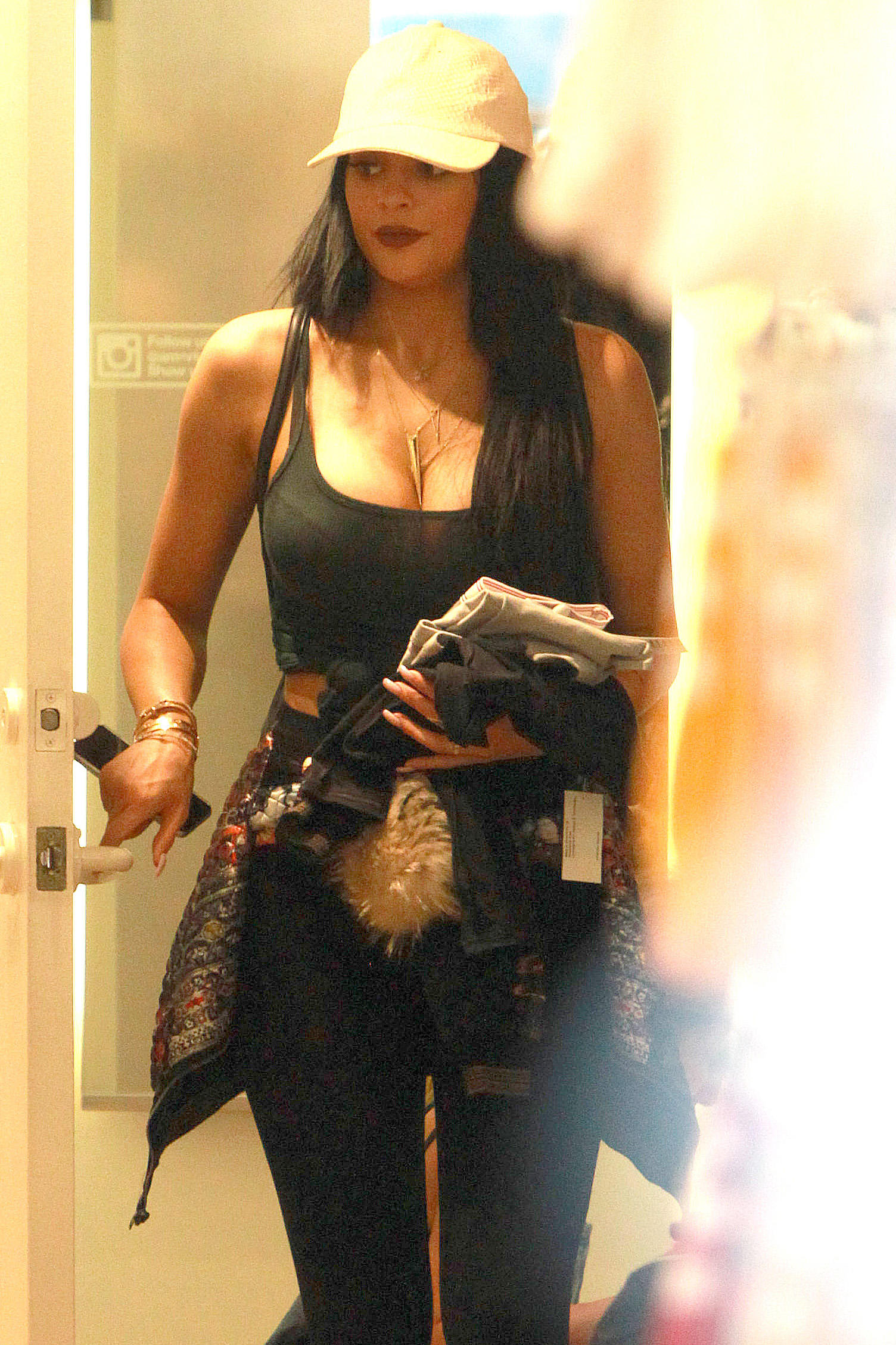 Kylie Jenner fitting room pics