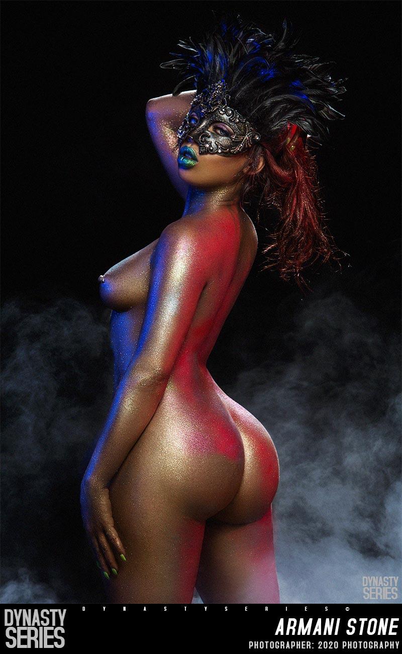 Armani Stone naked photoset