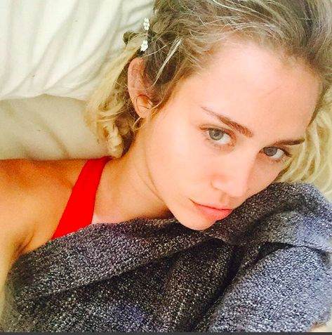 Sexy selfies of Miley Cyrus