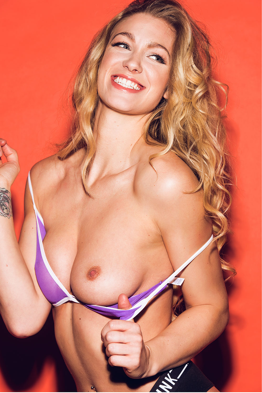 Topless pics of Joanna May Parker