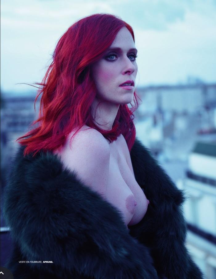 Topless Photos of Audrey Fleurot