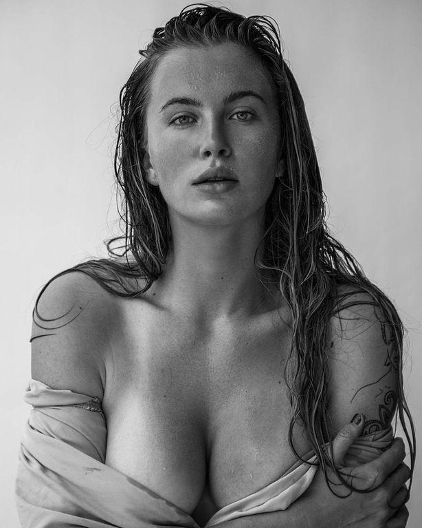 Ireland Baldwin Topless Photo