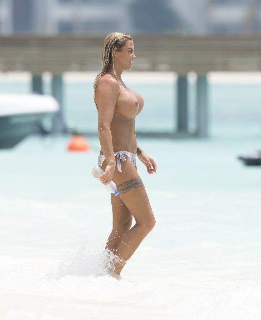 Katie Price's Boobs Make All The Headlines