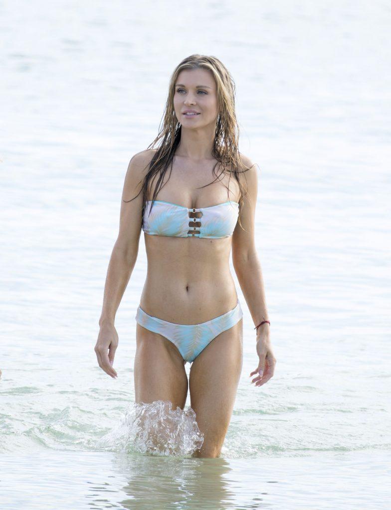 Joanna Krupa Baywatch-ing It Up In Bikini
