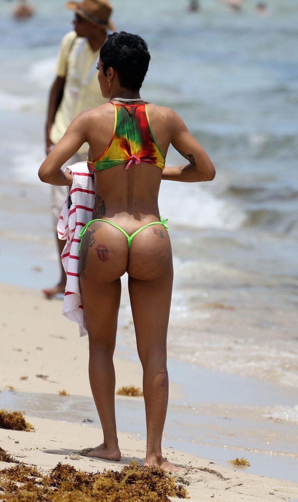 Teyana Taylor Bikini