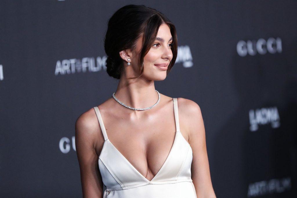 Camila Morrone Cleavage