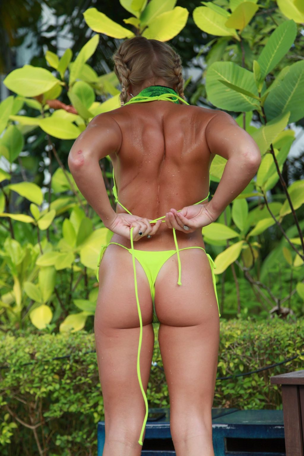 Gabby Allen Bikini