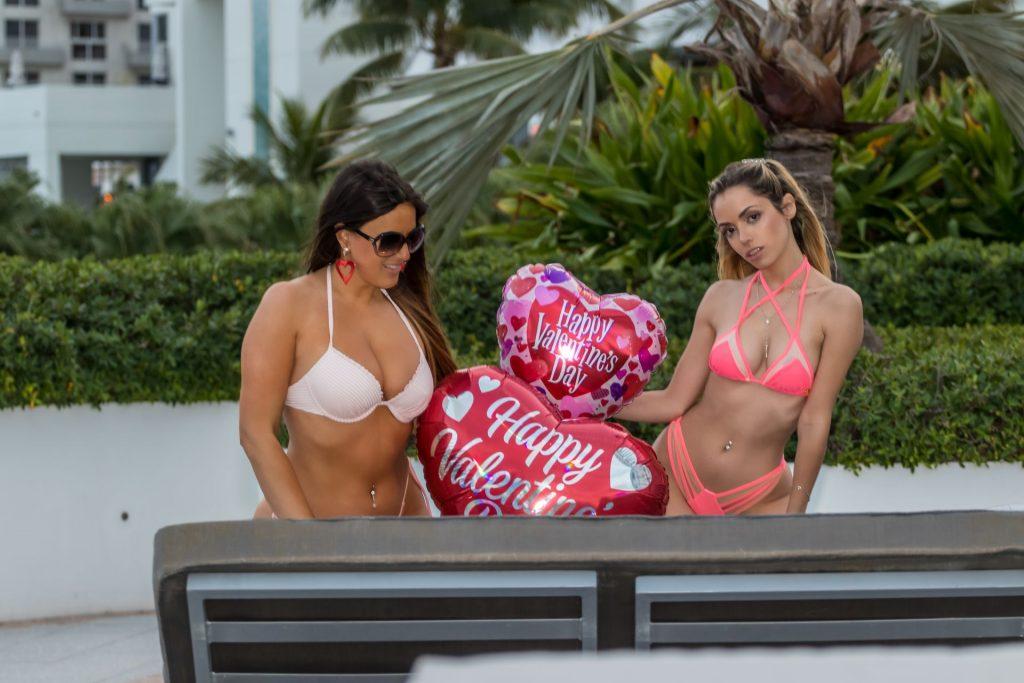 Claudia Romani & Cloe Greco Bikini