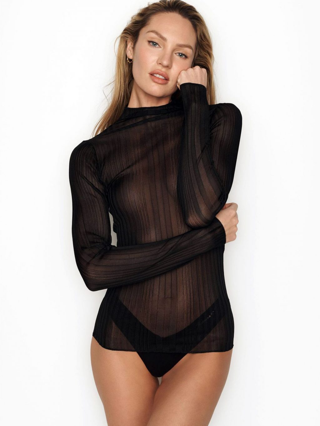 Candice Swanepoel See-Through