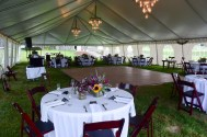 Setup by Peppers Fine Catering