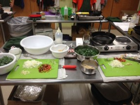 "Mise en place - ""Everything in it's place"""