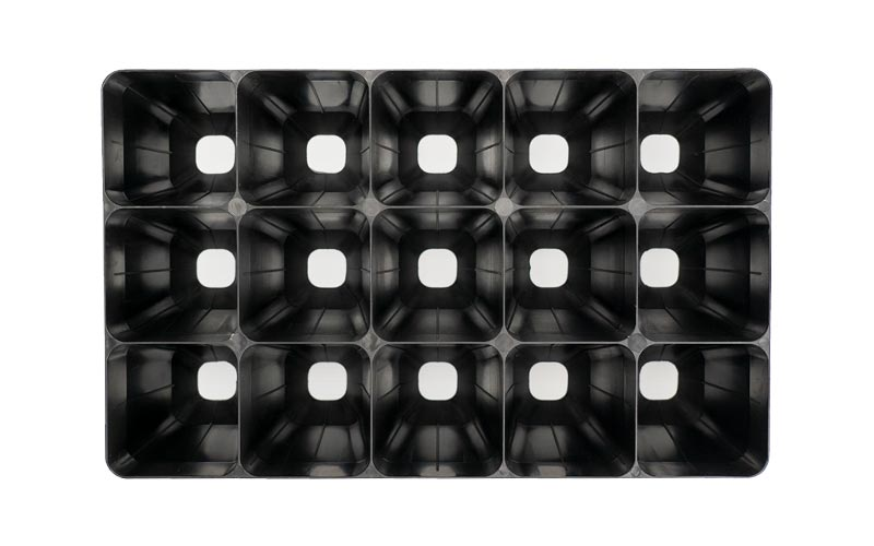 Module tray 15 cell top