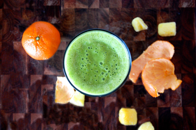 Can't Get Enough Citrus Green Smoothie