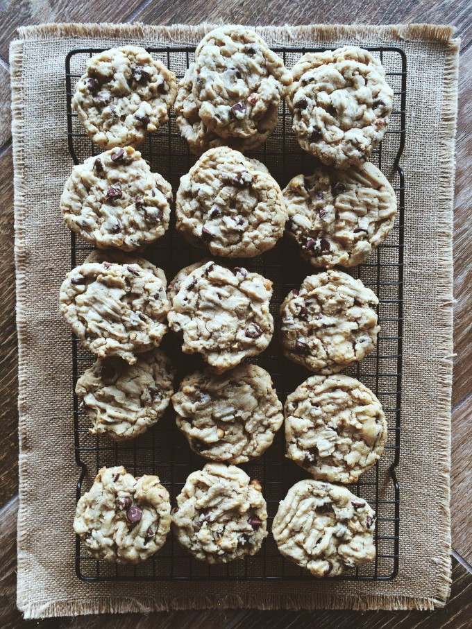 Peanut Butter, Oatmeal, Chocolate Chip.