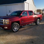 2014 Chevrolet High Country Silverado via thefarmerslife.com