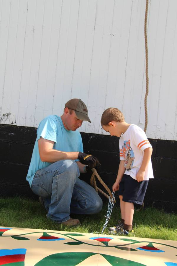 Father and Son via thefarmerslife.com