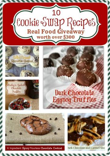10 Cookie Swap Recipes from Fabulous Food Bloggers. Perfect for Christmas baking and parties.
