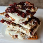 Cranberry Nut Pretzel Bark