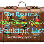 The Essential Walt Disney World Packing List!