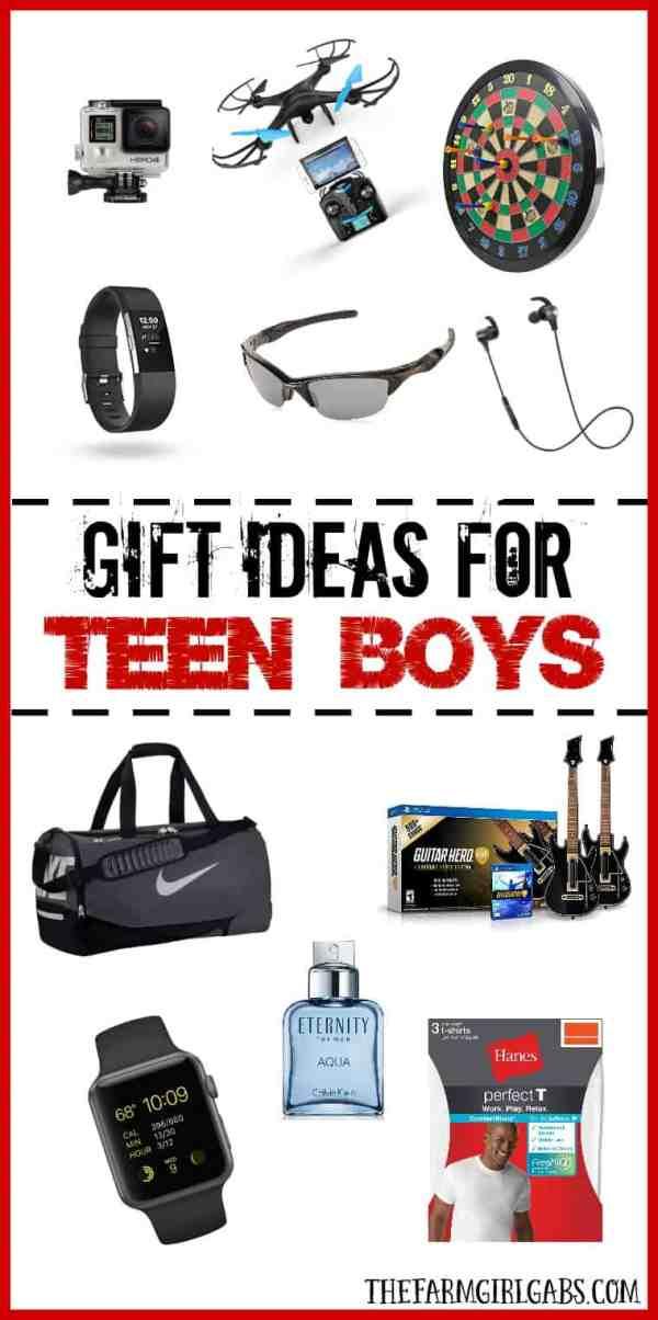 Gift Ideas For Teen Boys The Farm Girl Gabs