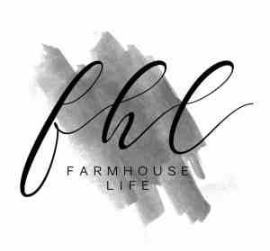 the farmhouse life logo black