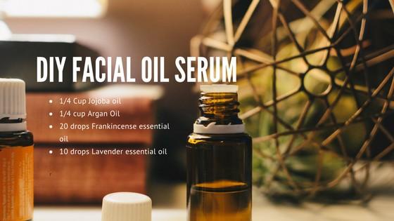 DIY Facial Oil Serum