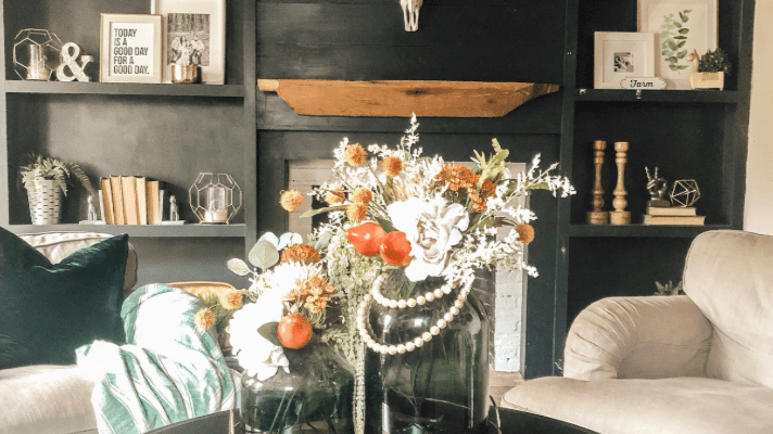 How to Transition from summer floral arrangements to fall