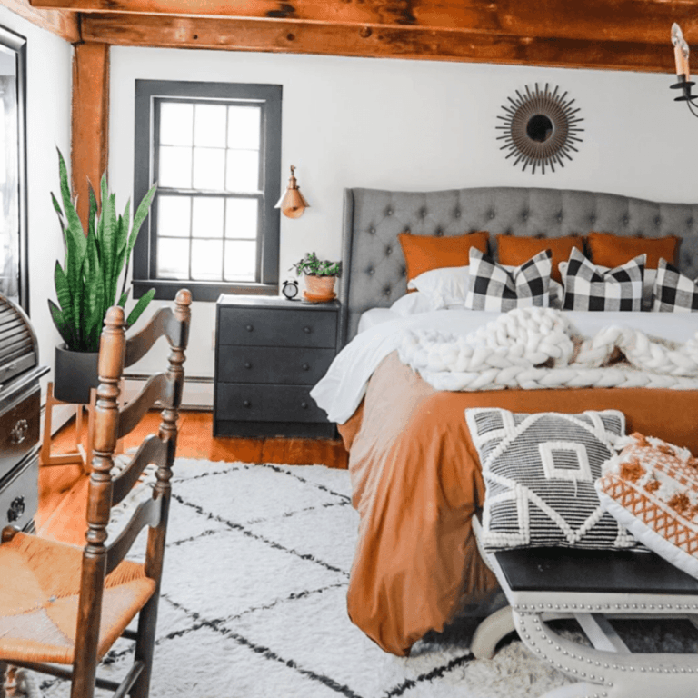 Creating a cozy bedroom to relax, recharge, and refresh!