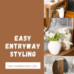 easy entryway styling