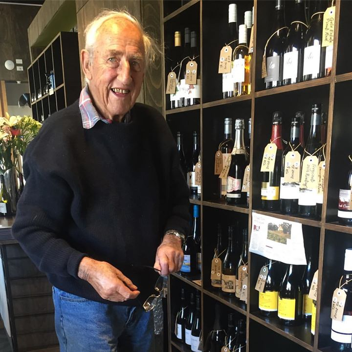 John Austwick, founder of Craigie Knowe Vineyard