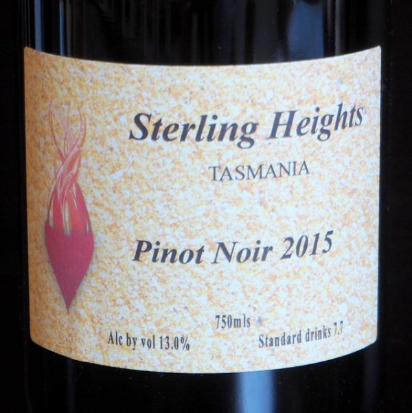 Sterling Heights Pinot Noir
