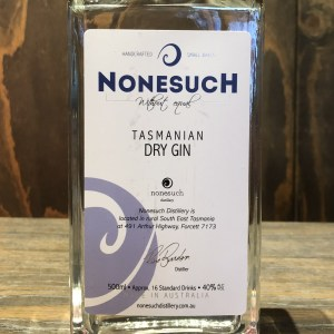Nonesuch Tasmanian Dry Gin