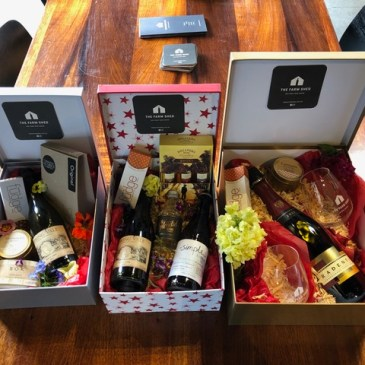 Farm Shed East Coast Wine Centre Christmas Gift Hampers