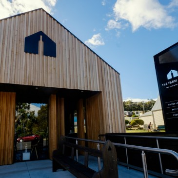 The Farm Shed East Coast Wine Centre at Bicheno is THE place to discover the wines from all the vineyards in Tasmania's East Coast Wine Region.