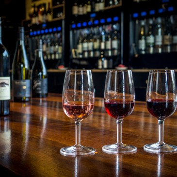 Taste some winter-warming reds from Tasmania's East Coast Wine Region at The Farm Shed in Bicheno this off-season