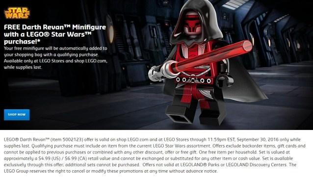 Revan Lego Deal