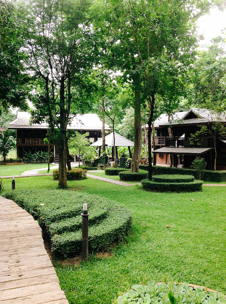 Travelling Thailand - Chiang Mai jungle resort.