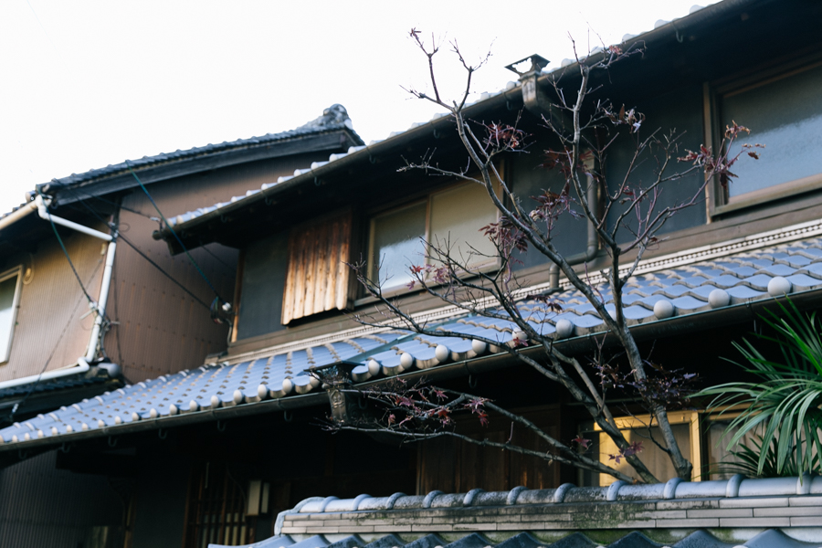 Japanese house in Yao, Osaka.