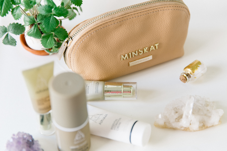 Minskat Copenhagen makeup bag,