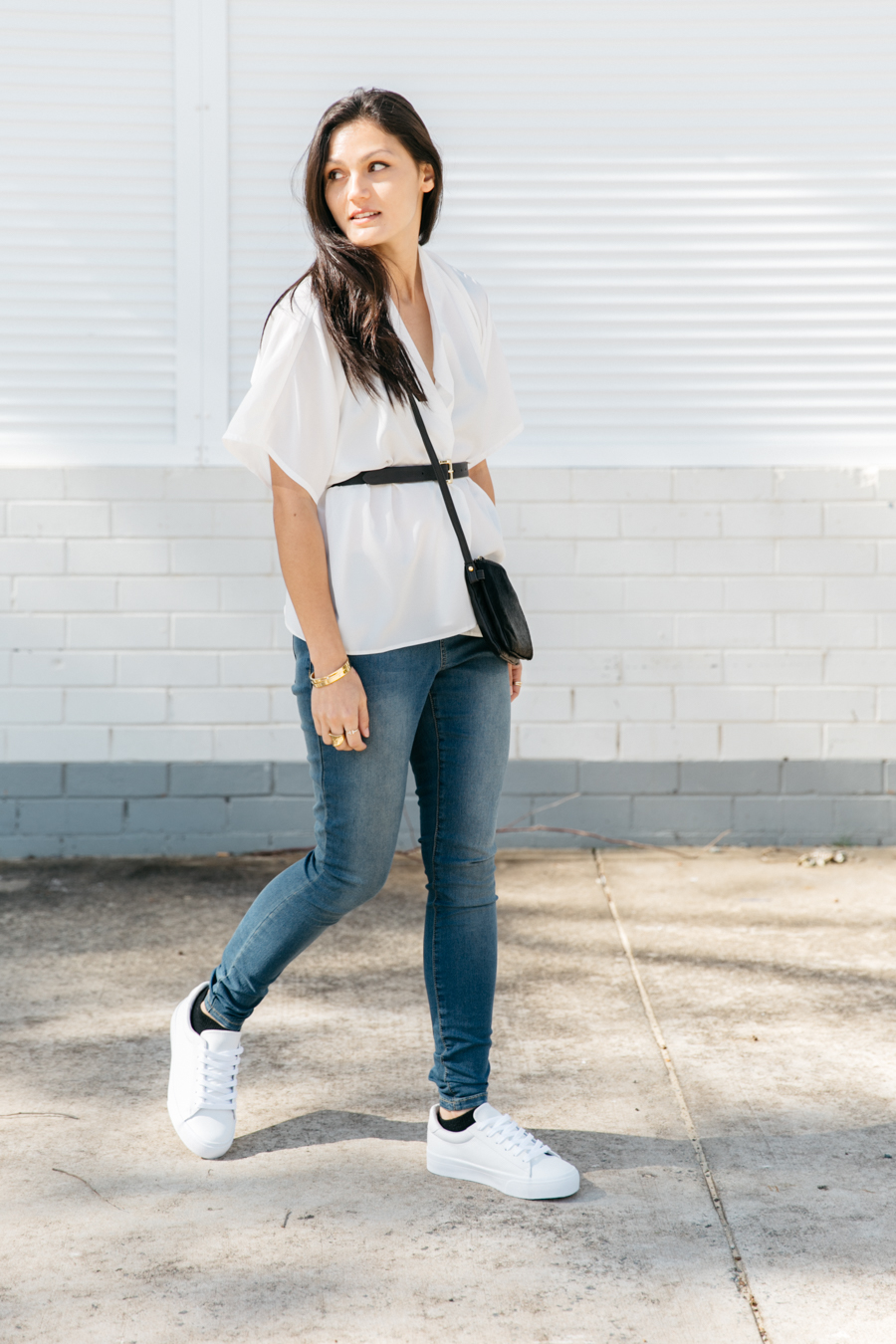 ASOS blogger collaboration: Match Yo Mama, minimalist street style.