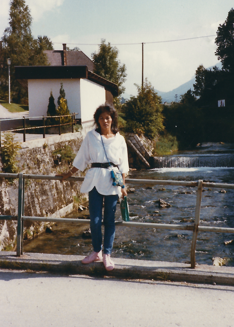 Minimalist style in the 80s in Europe.