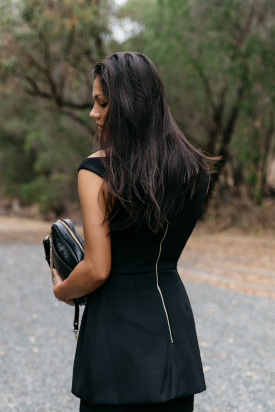 Perth fashion blogger wearing Keepsake the Label Nicest Thing dress.