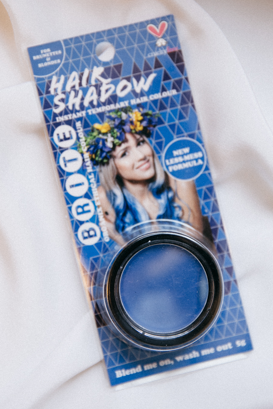 BRITE hair shadow.