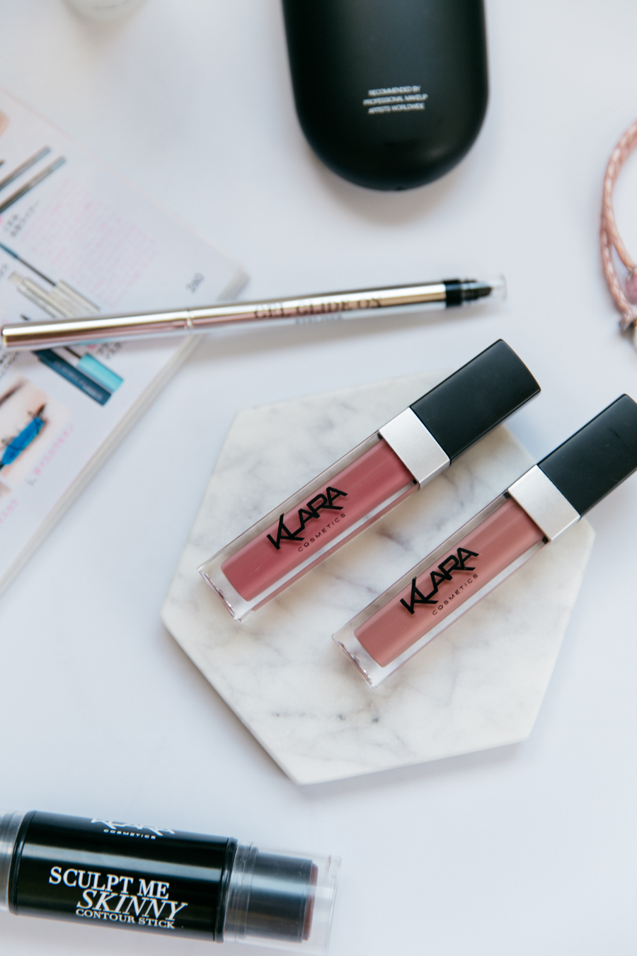 Easy apply liquid lipsticks - Klara Cosmetics Kiss Proof Lips.